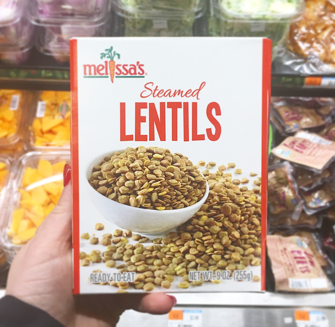 lentils instead of meat